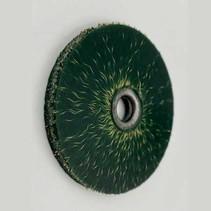 Plastic Coated Brush, green 70 x 8 mm AH10mm