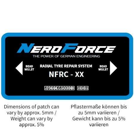 NeroForce Radialpflaster - Leicht-LKW und LKW - Chemical Cure Type - 1 Lage