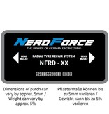 NeroForce Radial Patches - LTR & TBR - Dual Cure Type - 1 Ply