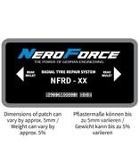 NeroForce Radialpflaster - Leicht-LKW und LKW - Dual Cure Type - 1 Lage