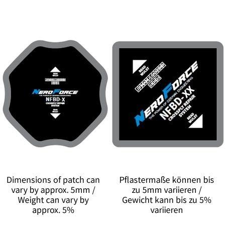 NeroForce Diagonalpflaster - OTR - Dual Cure Type - 5 Lagen