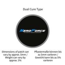 Schlauchreparatur-Pflaster, rund, Dual Cure Type