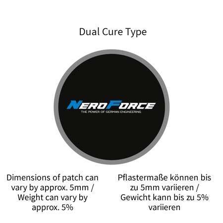 NeroForce Schlauchreparatur-Pflaster, rund, Dual Cure Type