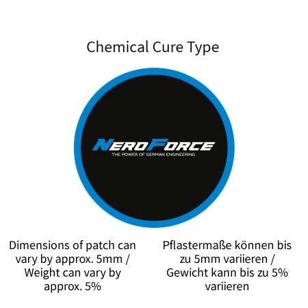NeroForce Schlauchreparatur-Pflaster, rund, Chemical Cure Type