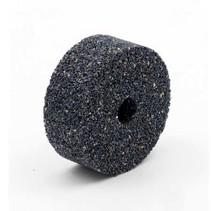 Schwarze Keramik Schleifscheibe 50x20mm, Bohrung 10mm, Mischkörnung 24/30