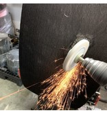 NeroForce Keramik Schleifscheibe 100x16mm, Bohrung 14mm, Mischkörnung 60/80