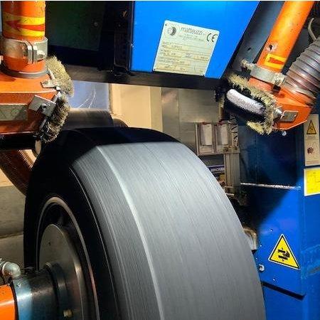 NeroForce Steel Shot Schleifring Ø152x25mm AH 38,1mm