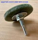 SIT Adapter Kit for Twisted & Plastic Brushes (3Pcs: 25, 30, 38mm)