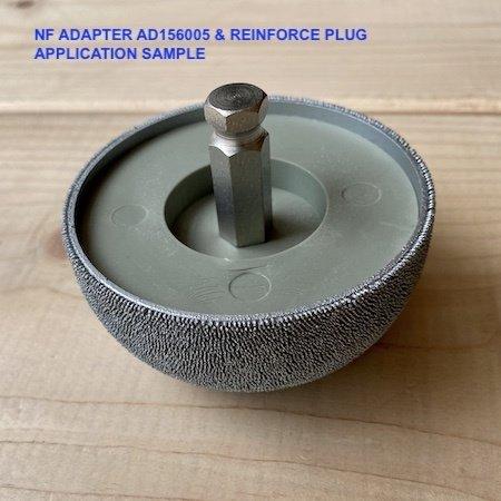 "NeroForce Adapter NV11 - 3/8""-24thread, 25mm  tread length"