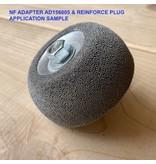 """NeroForce Adapter NV11 - 3/8""""-24thread, 25mm Gewindelänge"""