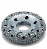 NeroForce Chrome Donut Wheel Ø150x32mm, AH50mm