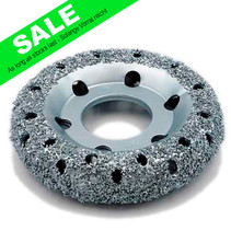 Chrome Donut Wheel Ø150x32mm, AH 50mm