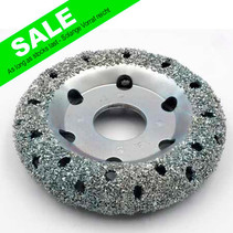 Chrome Donut Wheel Ø150x32mm AH38,1mm