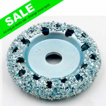 Chrome Donut Wheel Ø76x16mm AH14mm
