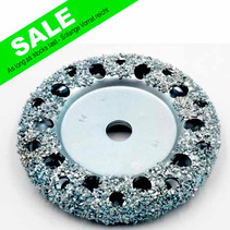 Chrome Donut Wheel Ø105x13mm AH14mm