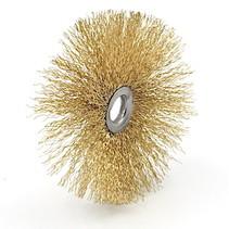 Brush (Brass coated) 100x25mm