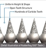 Rubberhog 15,8mm TAPER, 6.3mm SHAFT