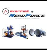 Akarmak Automatische Rau-Maschine mit Bürsten Einheit