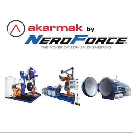 Akarmak Automatische Raumaschine mit Reifenaufbau Einheit