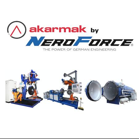 Akarmak Option: Automatic brushing unit for AKR 240HCX