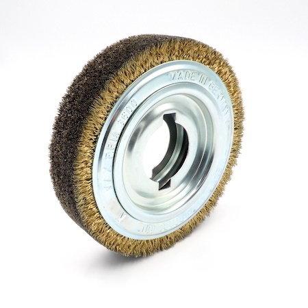 Ringbürste 180x42mm, Bohrung 100mm, Draht: 0,2mm, inkl. Reduzierring mit Bohrung 50,8mm