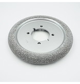 """Rubberhog 8"""" DONUT WHEEL, 60MM BORE with 4 Drive Holes, SSG390"""