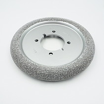 """8"""" DONUT WHEEL, 60MM BORE with 4 Drive Holes"""