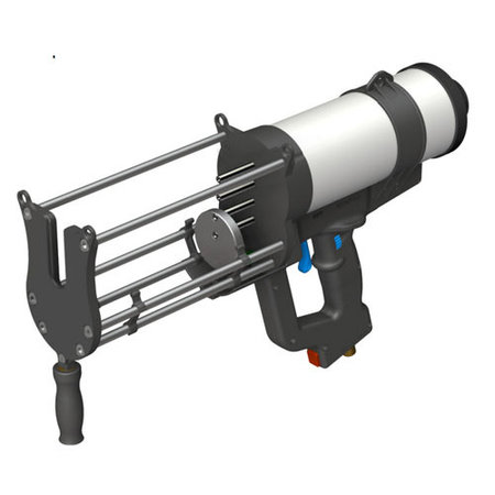 LUWIREP® Pneumatic discharging device for LUWIREP® 1.500 ml double cartridges
