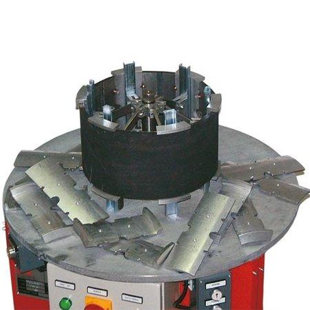 Maschine für das einfache & schnelle Austauschen der Gummigürtel von Expanderfelgen