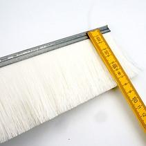 Abstreifbürstenleiste L = 1000 mm x 8 mm, H80mm (Nylon/Stahl 0,30mm)