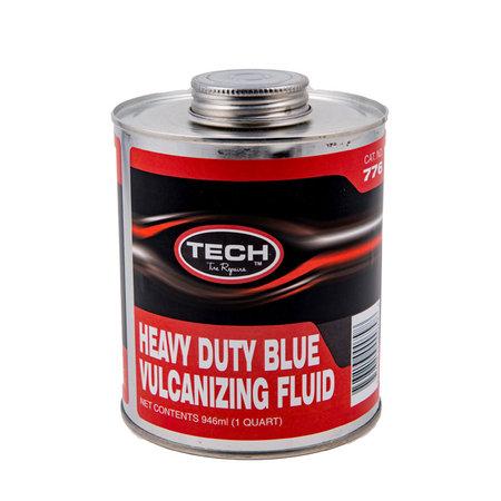 TECH HD Blauer Vulkanisierzement inkl. Bürste