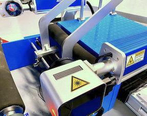Stationary Tyre-Laser-Marker