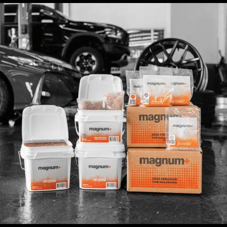 Martins Industries MAGNUM + Eimer mit losen Auswuchtperlen (8 kg)