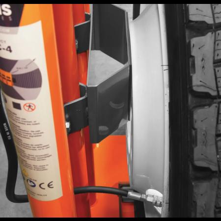 Martins Industries Stationäre Wulsteinpass - und Füllstation für LKW-Reifen