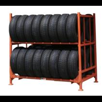 Klappbare Stapelpalette für Reifen
