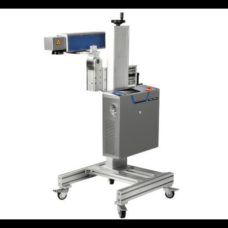 NeroForce Stationäres Hochleistungs LASER Markier System 30W Optischer Faser Laser, Touchscreen, 220V, Multiple Schnittstellen, Modularer Aufbau - Voll integrierbar in Produktionsanlagen.
