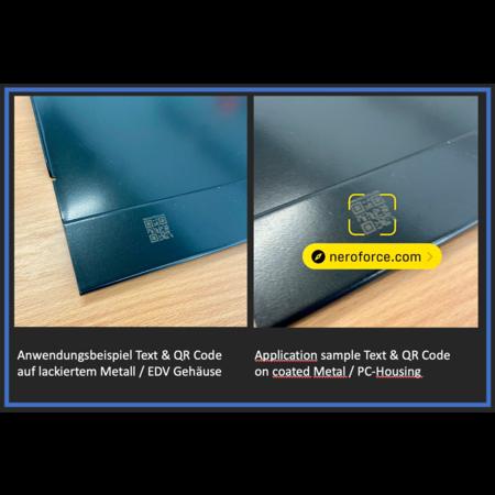 NeroForce Mobiler 30W Optischer Faser Laser, LCD Touchscreen, Linux, 220V