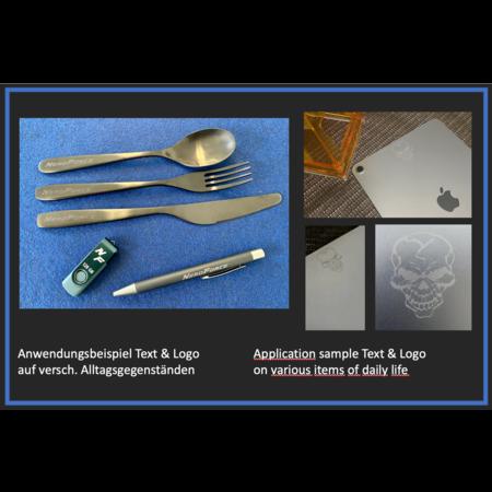 NeroForce Mobiler 20W Optischer Faser Laser, LCD Touchscreen, Linux, 220V
