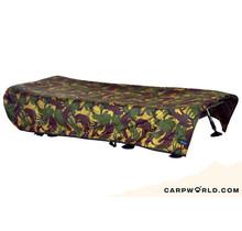 Aqua Camo Bedchair Cover