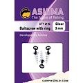 Ashima Ashima Baitscrew with 3 mm ring clear 8 pcs