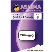 Ashima Quick-Lock Swivels Size 8