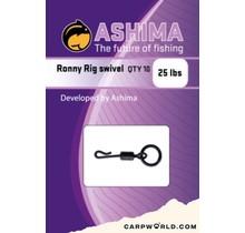 Ashima Ronny Rig swivel 25 lbs 10 pcs