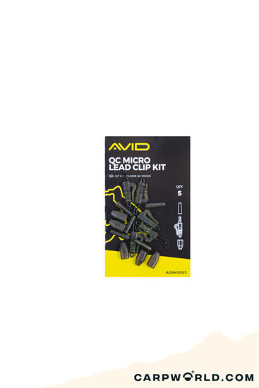 Avid Carp Avid Micro Lead Clip Kit