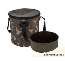 Fox Aquos Camolite bucket and insert - 17 L