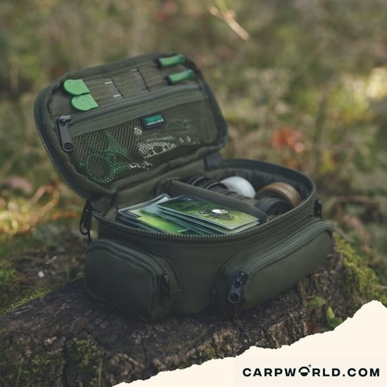 Thinking Anglers Thinking Anglers Olive Compact Tackle Pouch