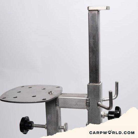 Carpworld.com RVS Transducer Steun Dragonfly en Lowrance
