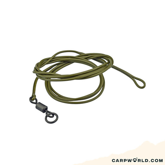 Ashima Ashima Coated Leader Loop/R-swiv 100cm 30 lbs