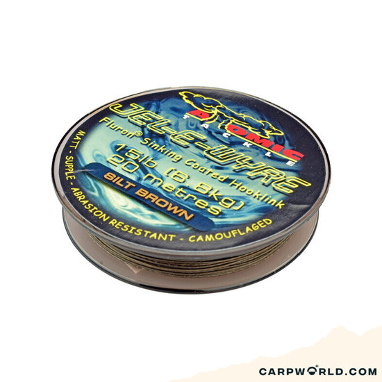 Atomic Tackle Atomic Jel-E-Wyre Brown