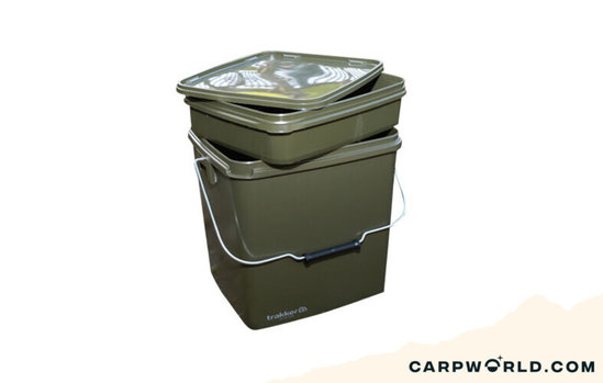 Trakker Products Trakker 13 Ltr Olive Square Container inc tray