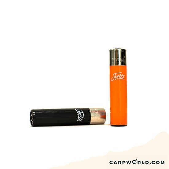 Fortis Eyewear Fortis Flipper Lighter - Black/Orange